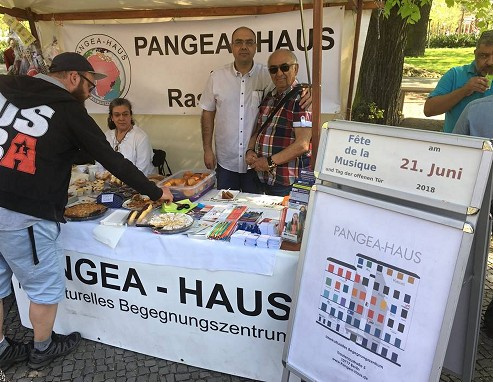 Foto: Stand des Panges-Hauses.